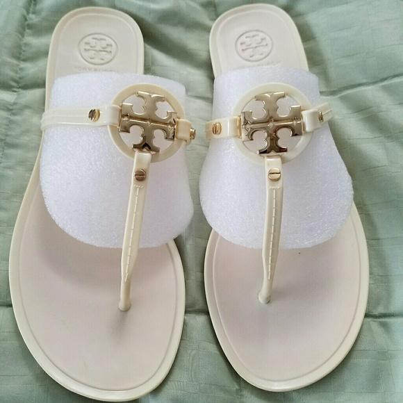 b5e1fc1d5d6df0 Tory Burch Shoes - Tory Burch Mini Miller Jelly Sandals Size 8